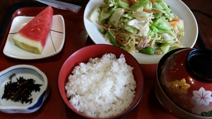 YOFUINさんの(ランチ)野菜炒め定食