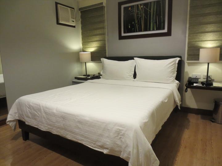 ガーデンビューホテル(ベッド)