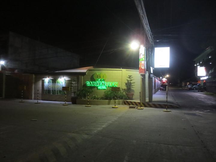 ガーデンビューホテル(夜の外観)
