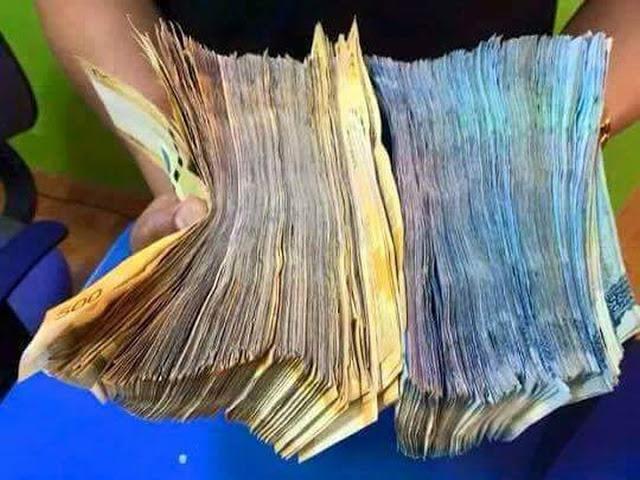 フィリピーナがFacebookで良くシェアする現金の写真 (本文とは無関係)