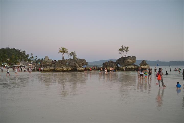 ボラカイ島の5月のサンセット(3)