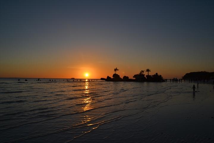 ボラカイ島の5月のサンセット(5)