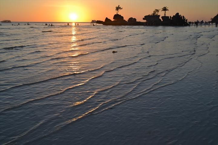 ボラカイ島の5月のサンセット(6)