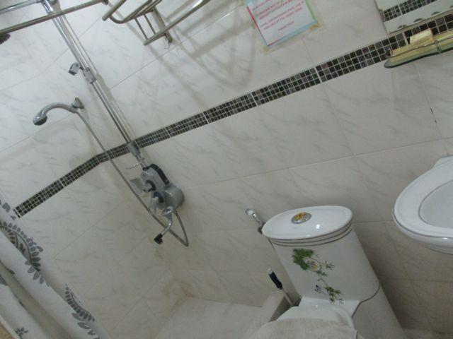 パームツリーリゾートのトイレの様子