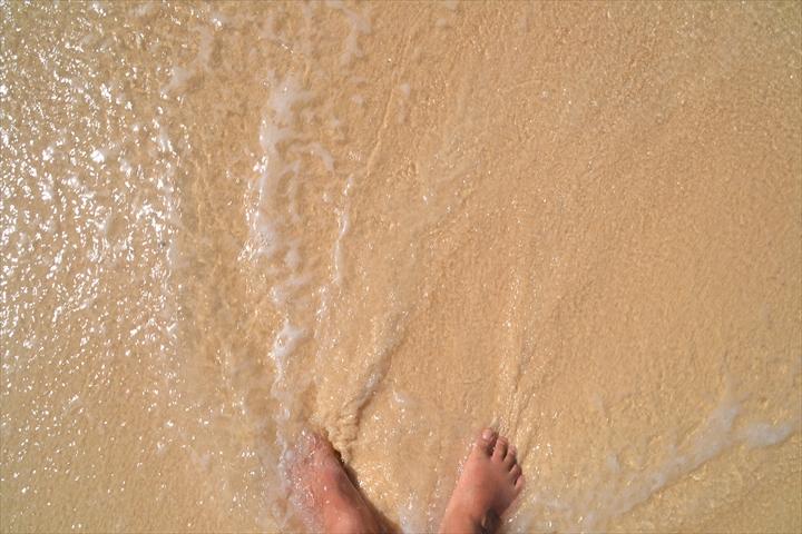 2016年5月:ボラカイ島のプカシェルビーチの様子(5)
