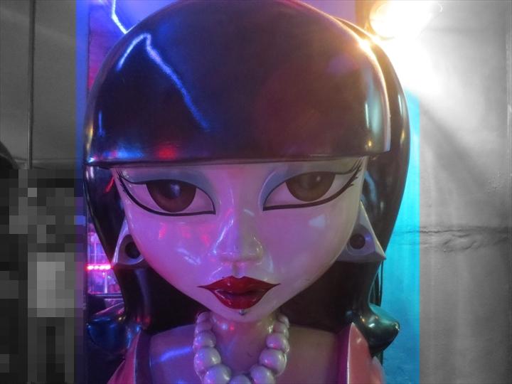 2016/SEPのアンヘレス滞在記(ドールハスの人形)