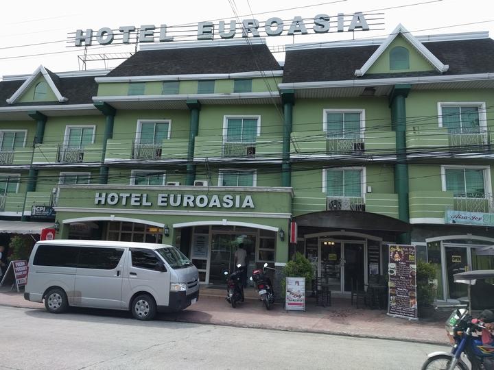 ユーロアジア(ホテルの外観)