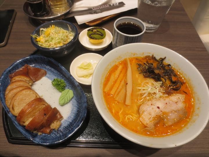 らーめん 山頭火 SMクラーク店(いかめし定食)
