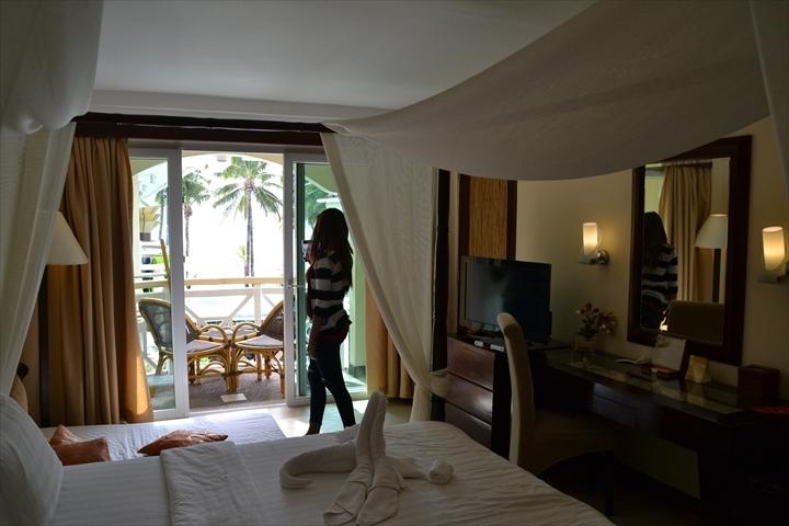 ボラカイのボートステーション2のビーチビューのホテル