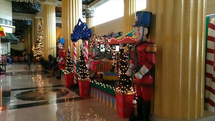 ヘリテージホテル(クリスマスのデコレーション)