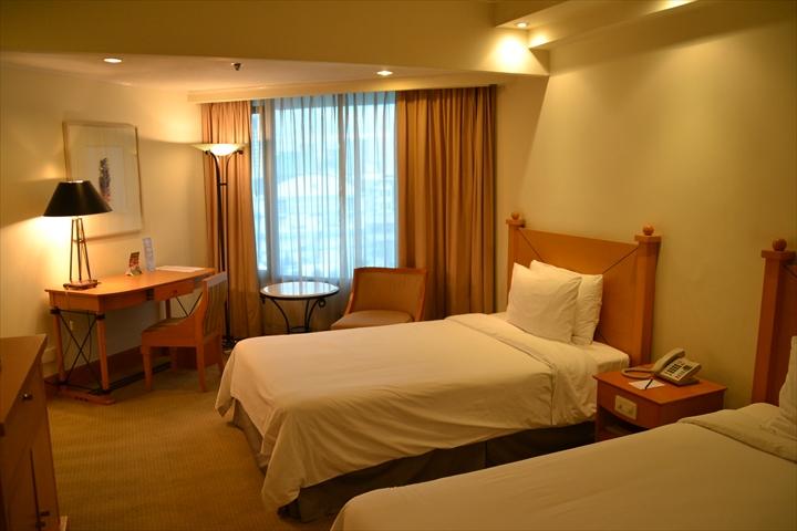 ヘリテージホテル(部屋の様子)