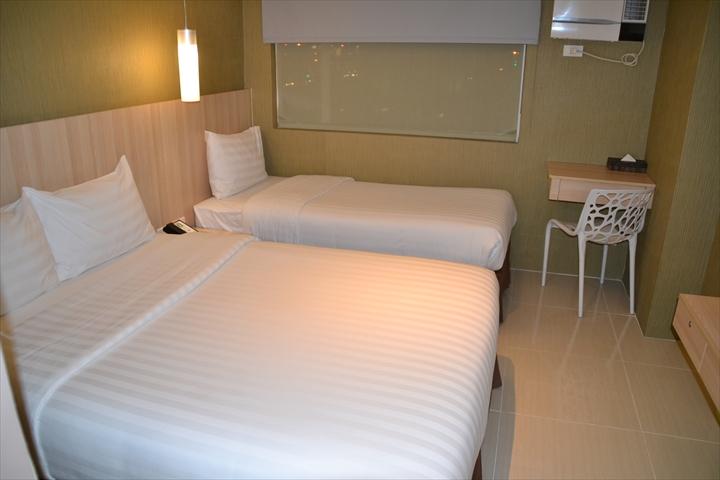 ホテル101マニラ(ベッド)