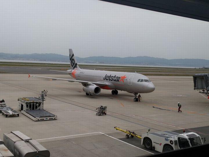マニラ経由Jetstarの機体
