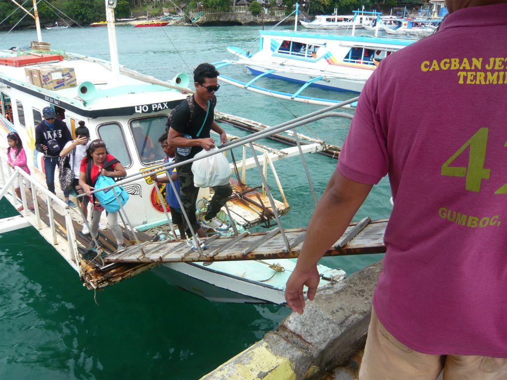 ボラカイのバカーボート