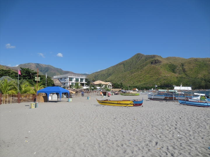 フィリピンのプンダキットビーチへ(プンダキットビーチ)
