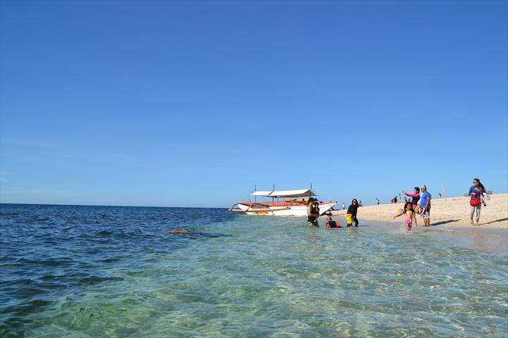 プンダキット・アイランドホッピング(カポネス島2)