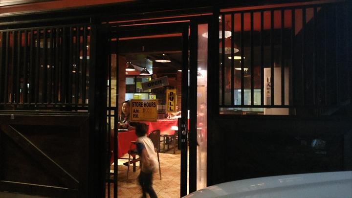 EGI Steak House (入り口)