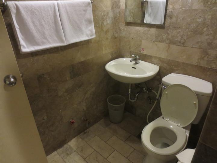 ホテル2016マニラブティック(トイレ&洗面)