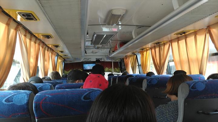 LRTバリンタワックを経由してアンヘレスから移動(ダオから乗ったフィルトランコの車中)