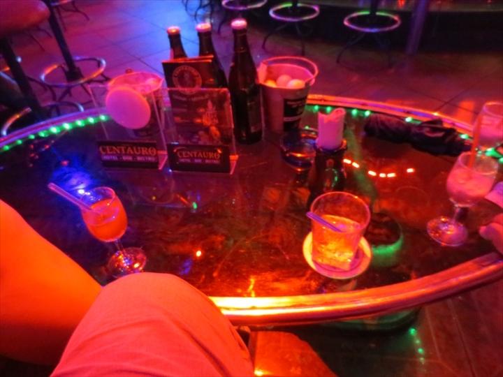 アンヘレスで飲むジントニック