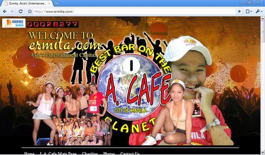 LA Cafe オフィシャルホームページ