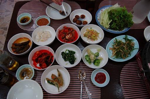 フレンドシップ方面の韓国料理店(店名不明)1