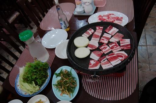 フレンドシップ方面の韓国料理店(店名不明)2