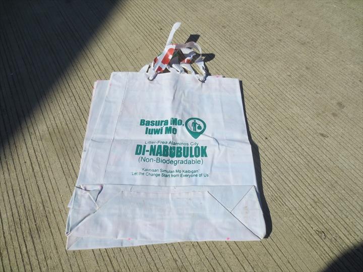ハンドレッドアイランド(デポジット制になったゴミ袋)