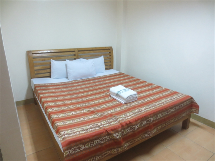 アイランドトロピックホテル(部屋の様子・ベッド)