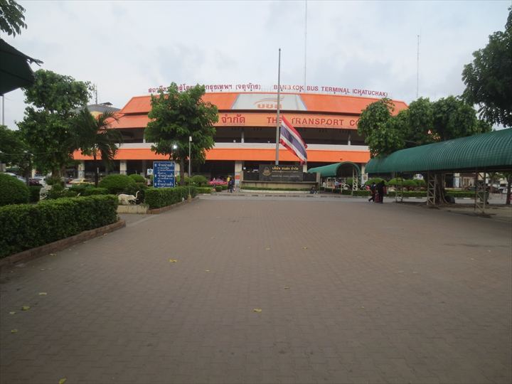 ドムアン空港からパタヤへバスで行く(1)