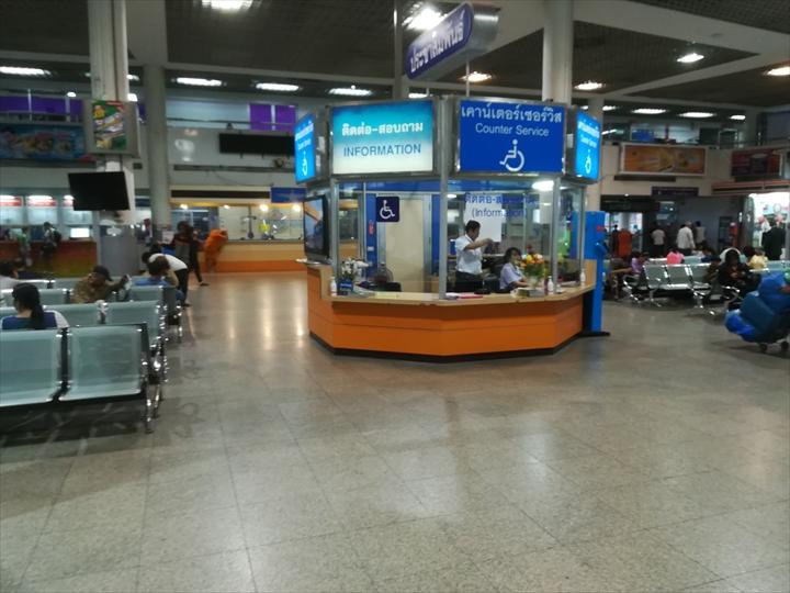 ドムアン空港からパタヤへバスで行く(5)
