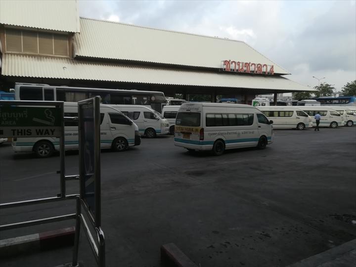 ドムアン空港からパタヤへバスで行く(7)