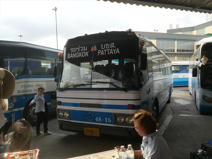 ドムアン空港からパタヤへバスで行く(10)
