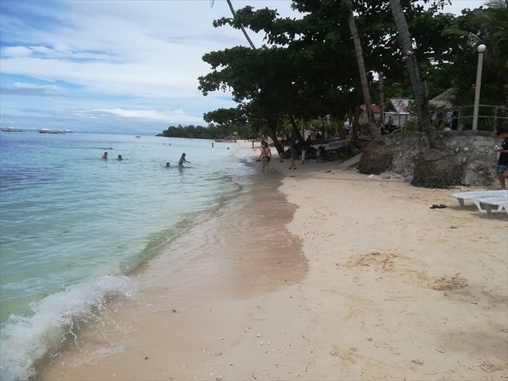 パングラオ島のビーチ巡り(1-1)