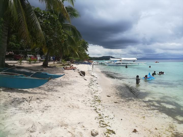 パングラオ島のビーチ巡り(2-2)