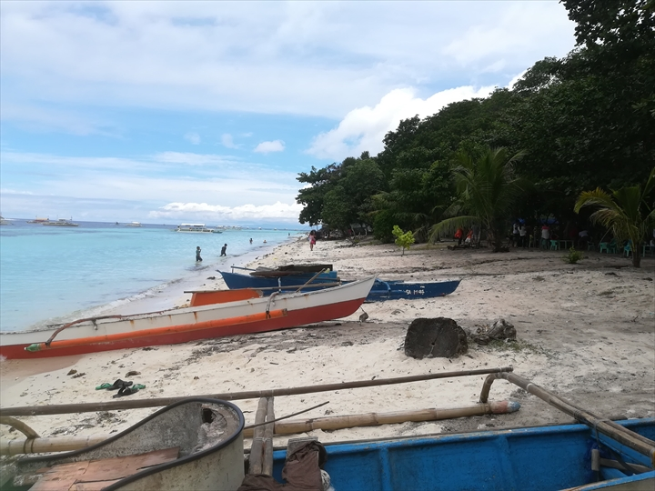 パングラオ島のビーチ巡り(3-2)