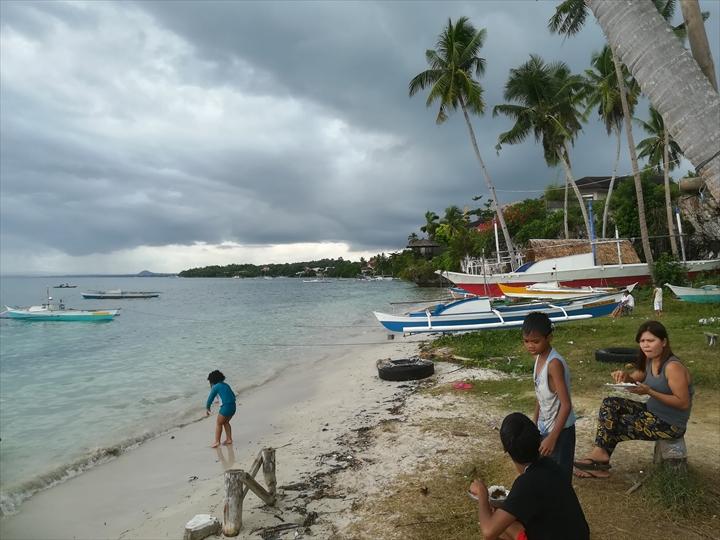 パングラオ島のビーチ巡り(5-1)