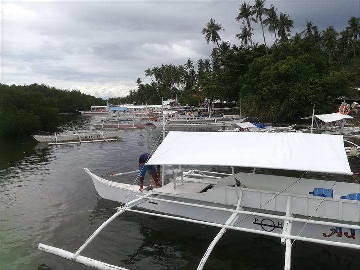 パングラオ島のビーチ巡り(7-1)