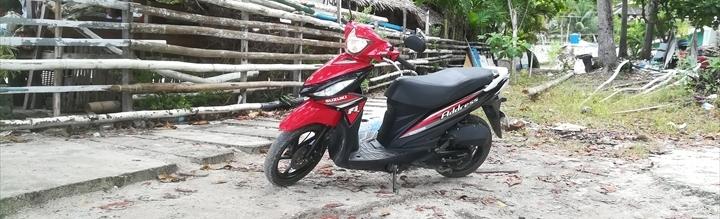 パングラオ島のレンタルバイク