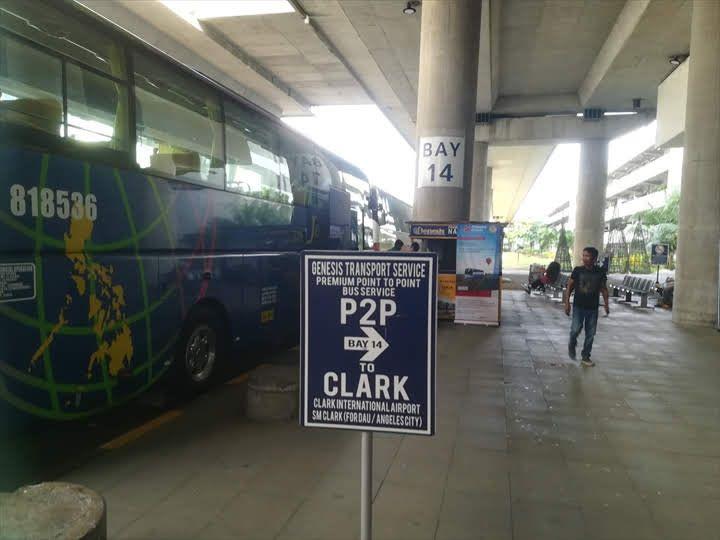 P2Pバス NAIA3乗り場