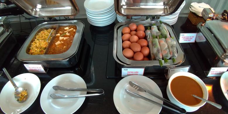 ホーチミン国際空港のプライオリティパス・ラウンジ(オーキッドラウンジの飲食4)