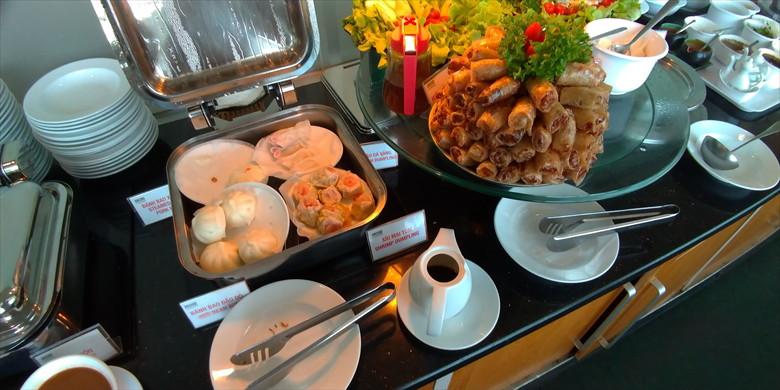 ホーチミン国際空港のプライオリティパス・ラウンジ(オーキッドラウンジの飲食3)