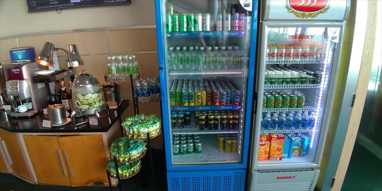 ホーチミン国際空港のプライオリティパス・ラウンジ(オーキッドラウンジの飲食6)