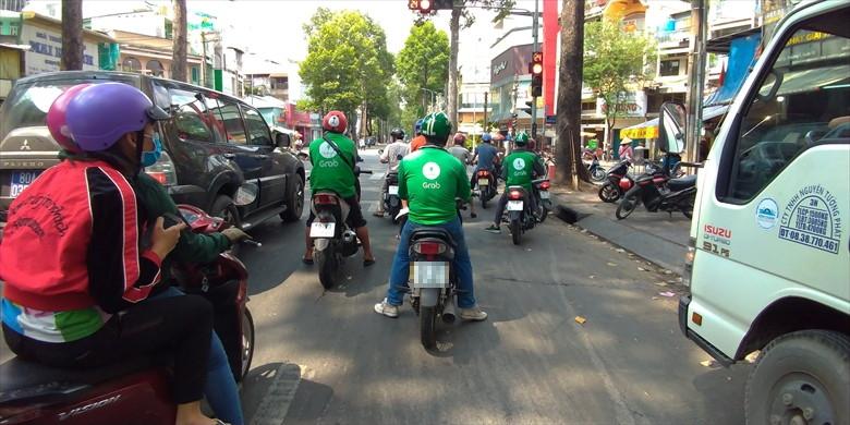 ベトナムでレンタルバイク