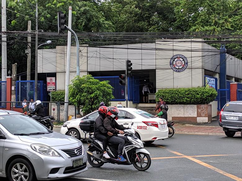 フィリピンの運転免許証を更新(LTO入り口)