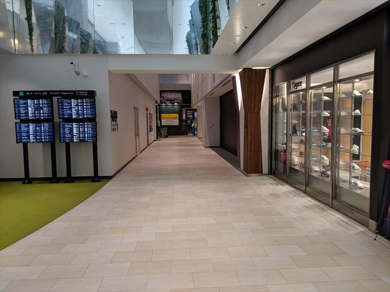 成田ターミナル1のKALラウンジについて(KALラウンジへ向かう2)