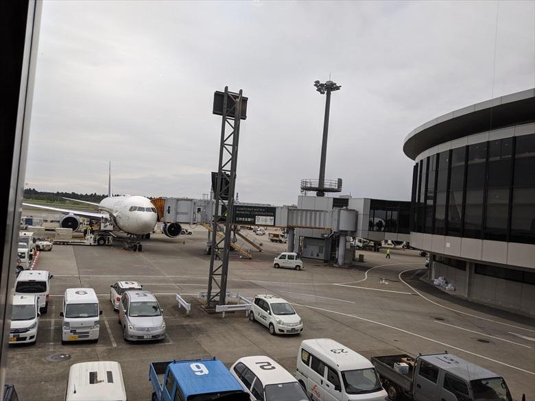 成田ターミナル1のKALラウンジについて(KALラウンジ[外の様子])