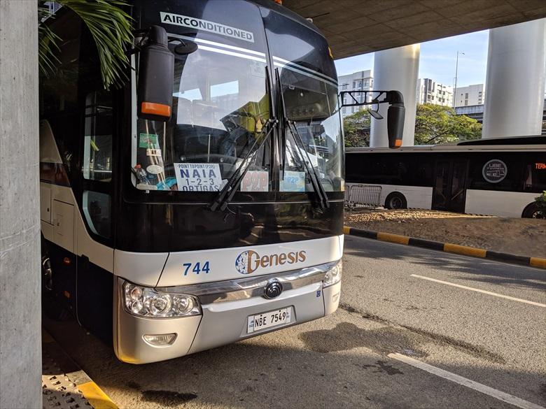 マニラ・アンヘレス間のP2Pバス(バスの様子)