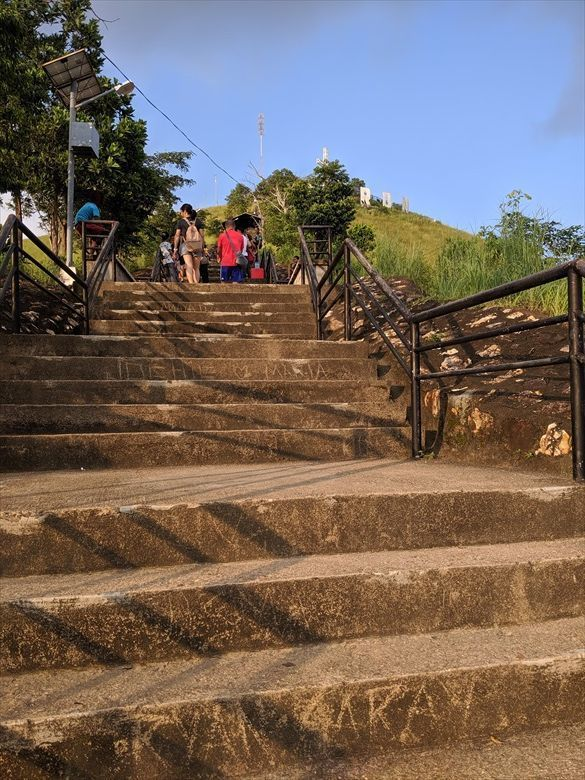 コロンのタプヤス山(中盤の階段) Mt Tapyas