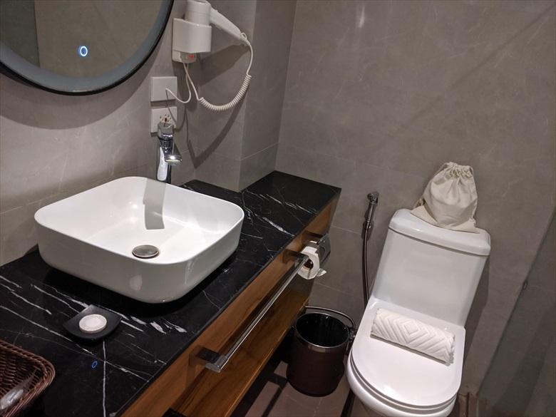 シュアステイ プラス ホテル(洗面所&トイレ)